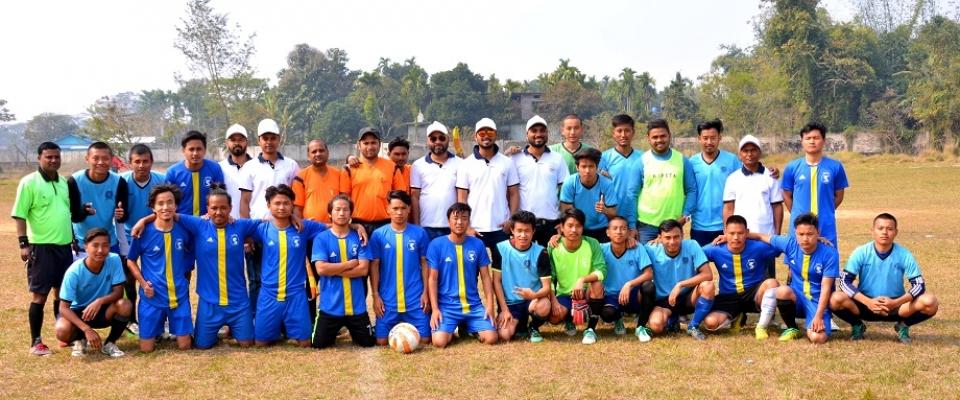 ASTU 3rd Sports and Cultural Meet  Football Final Match